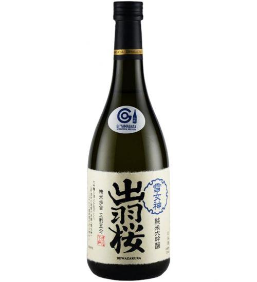Dewazakura Junmai Daiginjo Yukimegami 35